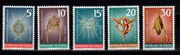 Senegal - YV 377 à 379 + YV 392 & 393 N** Poissons - Senegal (1960-...)