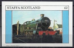 TRENES/STAFFA (Isla En La Costa Oeste De Escocia) - MNH ** - Treinen