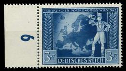 DEUTSCHES REICH 1942 Nr 820 Postfrisch URA X82ACBE - Nuovi