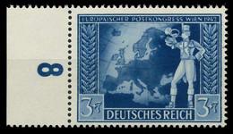 DEUTSCHES REICH 1942 Nr 820 Postfrisch URA X82ACB6 - Nuovi