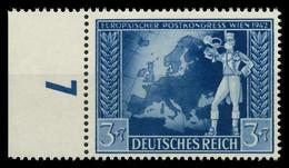 DEUTSCHES REICH 1942 Nr 820 Postfrisch URA X82ACAA - Nuovi
