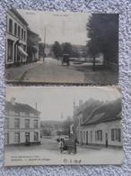 2 Cpa Watermael Boitsfort Entree Du Village - Watermael-Boitsfort - Watermaal-Bosvoorde