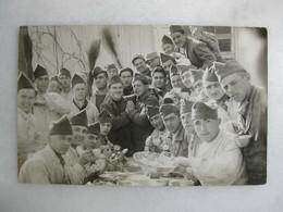 CARTE PHOTO - Militaria - Photo De Régiment - Regimientos