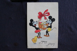 T-D, N°37 / Walt Disney  / Cartoon Characters - Mickey Mouse - Minnie Mouse  / Ciculé 1930 - Comicfiguren