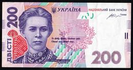 UKRAINE - 200 HRYVNIA - Usagé - Used -  N° 5151747 - Année / Year 2014. - Ucraina