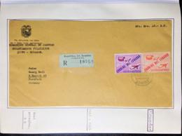 ECUADOR,  Registered Circulated Cover To Germany « U.P.U. - UNIVERSAL POSTAL UNION », 1963 - UPU (Unión Postal Universal)