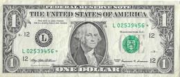 USA=1999   CALIFORNIA  STAR NOTE  1 DOLLAR   V FINE - Biljetten Van De  Federal Reserve (1928-...)