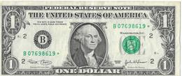 USA=2003   NEW YORK   STAR NOTE  1 DOLLAR   V FINE - Biljetten Van De  Federal Reserve (1928-...)