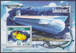 2015 Sierra Leone 6218/B777 Submarine 11,00 € - Submarines