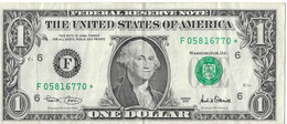 USA=2001   GEORGIA   STAR NOTE  1 DOLLAR   V FINE - Biljetten Van De  Federal Reserve (1928-...)