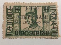 Indo-china North Viet Nam(stamps Of Indochina Over-printed Overprinted1945-1946)van Vollenhoven-10sents )1-stamp (overp - Vietnam