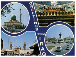 (T 18) Irak - Iraq / Greetings Mosque(s) - Islam