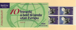 Islande - Carnet - C-778 - Europa - Paix Et Liberte - Cote 22.50€ - Ungebraucht