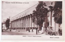 Paris (Exposition Coloniale Internationale De 1931) - Italie: Palais Principal - Tentoonstellingen