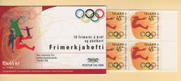 Islande - Carnet - C-801 - Jeux Olympiques - JO Atlanta - Cote 18€ - Ungebraucht