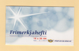 Islande - Carnet - C-833 - Noel - Cote 16€ - Ungebraucht