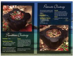 (T 20) Recipe - Recette - Peanut Chutney - Küchenrezepte