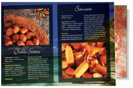 (T 20) Recipe - Recette - Chilli Fritters & Samosas - Küchenrezepte