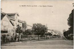 6ZB 617 CPA - SAINT PAUL LES DAX - LES QUATRES CHEMINS - Otros Municipios