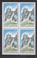 N° 2015 Réunion De La Franche-Comté à La Couronne De La Paix: Bloc De 4 Timbres Neuf Impeccable - Unused Stamps