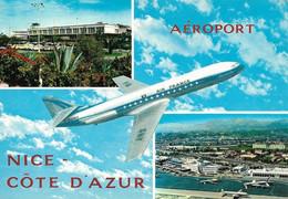 Aéroport Nice Côte D'Azur Divers Aspects (circulé) - Aérodromes