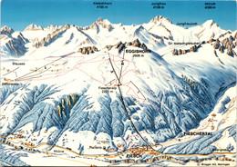 Skigebiet Fiesch-Eggishorn Und Bettmeralp (43782) - VS Valais