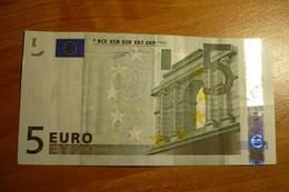 Austria F003 I3 Duisenberg 5 EURO 2002 N39043499799 - EURO