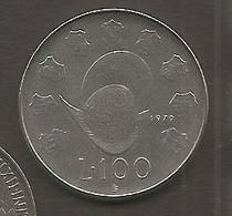 San Marino - Moneta Circolata Da 100 Lire Km95 - 1979 - San Marino