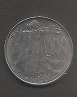 San Marino - Moneta Circolata Da 100 Lire Km122 - 1981 - San Marino