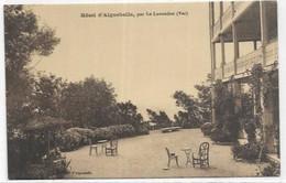 D 83.  LE LAVANDOU. AIGUEBELLE.     L HOTEL . - Le Lavandou