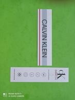 CALVIN KLEIN - Carte Parfumée - Modern (vanaf 1961)