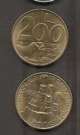 San Marino - Moneta Circolata Da 200 Lire Km268 - 1991 - San Marino