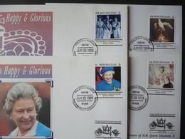 BRITISH VIRGIN ISLANDS QEII 40TH CORONATION ANNIVERSARY [4] - British Virgin Islands