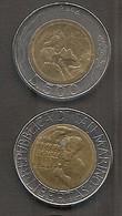 San Marino - Moneta Circolata Da 500 Lire Km314 - 1994 - San Marino