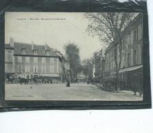 12-MILLAU-Une Vue Animée Des MAGASINS Boulevard De BONNALD - Zonder Classificatie