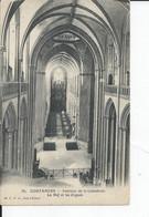 COUTANCES   Interieur De La Cathetrale  La Nef Et Les Orgues - Coutances