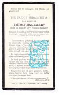 DP Collette Hallaert / Hallaert ° Gent 1860 † Ledeberg 1930 - Imágenes Religiosas