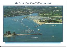 La Forêt Fouesnant - Port La Forêt - Kerléven - Cap Coz > Vue Aérienne D'ensemble > N°9773 YCA Caoudal éditeur - La Forêt-Fouesnant