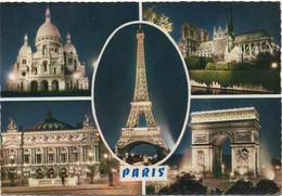 Paris : Multi-vues (Ecrite) - Mehransichten, Panoramakarten
