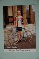 CYCLISME: CYCLISTE : ROGER DE VLAEMINCK - Cyclisme