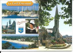 La Forêt Fouesnant - Carte Multivues > N°9869 YCA Caoudal éditeur - La Forêt-Fouesnant