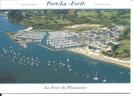 PORT La FORÊT En La Forêt Fouesnant - Vue Aérienne > N°9873 YCA Caoudal éditeur - La Forêt-Fouesnant