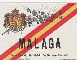 *** ETIQUETTE ***  Années 30 ---  MALAGA Carin - Labels