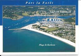 Baie De La Forêt Fouesnant - Port La Forêt - Kerleven > Vue Aérienne > N°9877 YCA Caoudal éditeur - La Forêt-Fouesnant