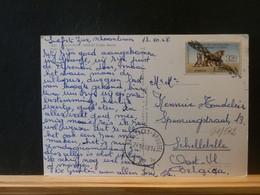 91/512   CP ESPAGNE POUR LA BELGIQUE 1968 OBL. ROULETTE BELGE - 1991-00 Cartas