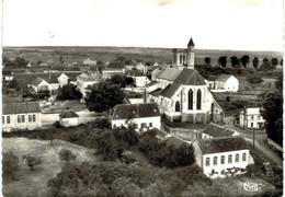 Pourrain Vue Aérienne De L'église - Other Municipalities