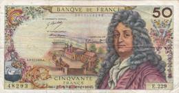 50 Francs - RACINE - 1973  E 229 - Voir Scan - 50 F 1962-1976 ''Racine''