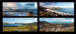 Falkland Islands 2018 Landscapes 4v MNH - Falklandinseln