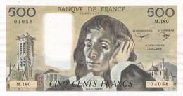 500 Francs - PASCAL 1983  M 180 - Voir Scan - 500 F 1968-1993 ''Pascal''