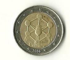 2 EURO BEGIQUE 2006 - ATOMIUM - Belgien